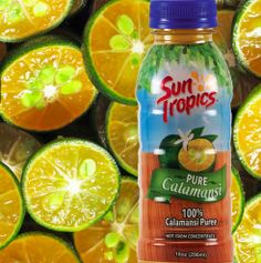 Did you know with Pure Calamansi you can make your own calamansi juice? For those who can't enjoy Calamansi Nectar enjoy the Pure Calamansi with an alternative sweetener of your preference or honey