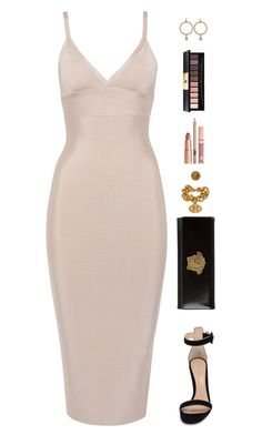 """""""Sin título #4052"""" by mdmsb on Polyvore featuring moda, Gianvito Rossi, Versace, Yves Saint Laurent y Dolce Vita"""