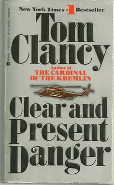 In memory of best-selling U.S. author Tom Clancy. He has died at the age of 66.