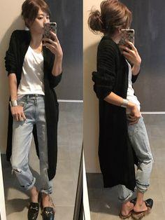 GAPのデニムパンツを使ったsayakaのコーディネートです。WEARはモデル・俳優・ショップスタッフなどの着こなしをチェックできるファッションコーディネートサイトです。