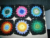 Claire's Crafts: Sunburst Granny Square
