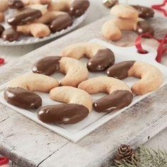 Croissants biscuités à la vanille et au Nutella®