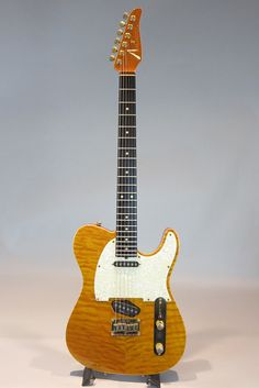 TOM ANDERSON[トムアンダーソン] Hollow T Classic Contoured Translucent Amber with Binding 1998 詳細写真