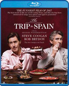 The Trip to Spain (Blu-ray, 2017) Shout! Factory Steve Coogan/Rob Brydon Comedy!