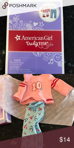 American Girl truly me doll clothes Brand new doll clothes for American Girl truly me doll. Retail $28 american girl Other