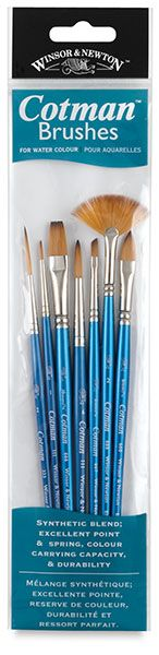 Very pretty and very nice brushes for watercolor and ink!