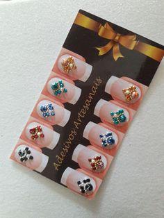 Nail Jewels, Dimonds, Diamond Nails, Nail Decorations, Luxury Jewelry, My Nails, Manicure, Nail Designs, Nail Art