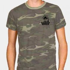Camouflage Crew.  Classic fit crew neck T-shirt, 100% pre-shrunk cotton. Cut longer for comfort, Reinforced neck band for durability. Made in the USA.