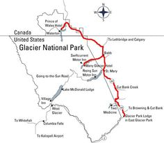 Glacier Park Inc.: Red Bus Tour Information - Glacier National Park - if you are coming to Montana and want to see the highlights from the road and not have the bajesus scared out of you because of heights - take the vintage Red touring buses!!!! Glacier Lodge, Glacier Park, Waterton Lakes National Park, National Parks, Lake Mcdonald Lodge, Many Glacier Hotel, Us Park, Flathead Lake