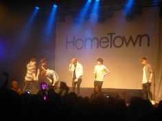 Hometown onstage <3