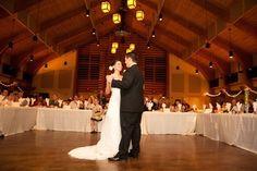 Dance in Conference Center #WeddingVenue #Wedding #LoughridgeWeddings #FirstDance