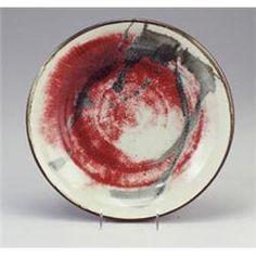 """Toshiko Takaezu Porcelain Bowl 13 1/4"""""""