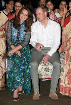 Kate Middleton Photos - The Duke & Duchess of Cambridge Visit India & Bhutan - Day 3 - Zimbio