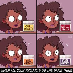 21 Comics For Any Girl Who Has Complicated Relationship With Her Hair Black Natural Hair Care, Black Hair Care, Natural Life, Natural Beauty, Black Girl Problems, Curly Hair Styles, Natural Hair Styles, Curly Hair Problems, Complicated Relationship