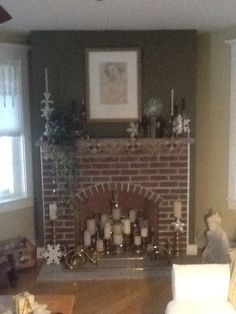 This year's mantle