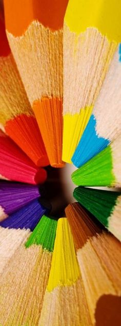 Pencils. Colorful Photography