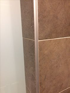 Decorative Tile Strips Fair Chrome Plated Brass Square Edge Tile Trim 25M  Bathroom Decorating Inspiration