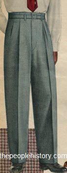 Bilderesultat for 50s trousers men
