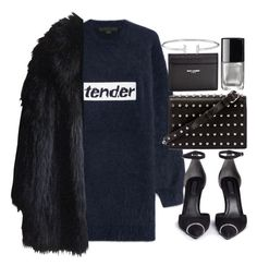 """Untitled #20805"" by florencia95 ❤ liked on Polyvore featuring Alexander Wang, Yves Saint Laurent, Chanel and Sonia Rykiel"