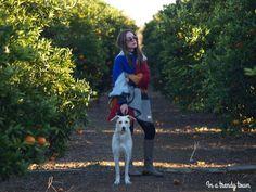 Outfit capa manta zara a rayas inatrendytown.blogspot.com