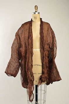 Jacket Romeo Gigli (Italian, born 1949) Date: ca. 1990 Culture: Italian Medium: metal