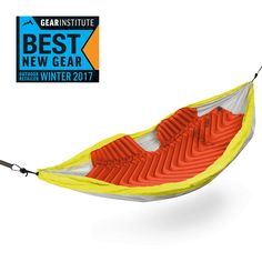 The Insulated Hammock V is the first air pad designed specifically for hammock giving the sleeper 180 degrees of insulations, significantly reducing the amount of lost body heat.