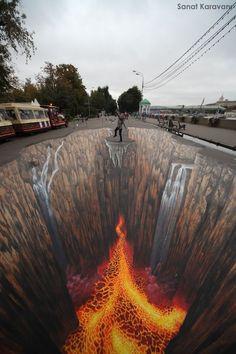 Edgar Mueller, Street Art (Absolutely amazing and fun!)