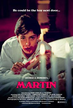 George A. Romero's Martin (1976) introducing John Amplas — Romero has stated that this is his favorite of his films.