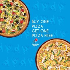 #Dominos #BOGO Offer – Buy 1 Get 1 Free Offer on #Delicious #Pizza + 20% Cashback Using #Mobikwik.