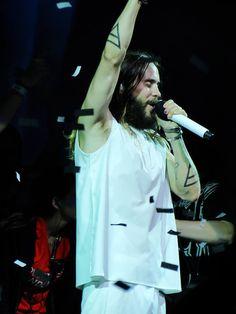 Jared - Carnivores Tour - PNC Music Pavillion Charlotte NC - 12 August 2014 - photo credits kiffsandgiggles