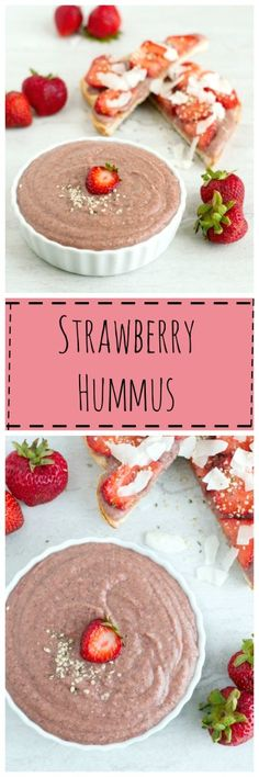 Strawberry Hummus - The Organic Dietitian