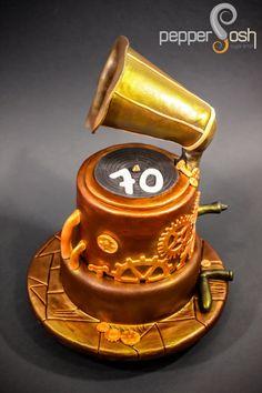 Steampunk Gramophone by Pepper Posh