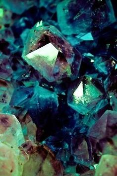 Fluorite is the mineral form of calcium fluoride, CaF₂. It belongs to the halide minerals. It crystallizes in isometric cubic habit, although octahedral and more complex isometric forms are not uncommon.