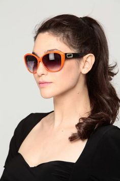 Buy Cat Eye Oversized Sunglasses ORANGE with cheap price and high quality from Cicihot Sunglasses Online Store which also sells Women's Sunglasses,Sunglasses,Celebrity Sunglasses. Sunglasses Online, Cat Eye Sunglasses, Sunglasses Women, Celebrity Sunglasses, Cat Eyes, Buy A Cat, Oversized Sunglasses, Casual Chic
