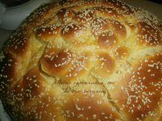 ΠΛΑΘΩ ΖΥΜΑΡΑΚΙΑ ΜΕ ΤΑ ΔΥΟ ΧΕΡΑΚΙΑ ..: ΠΑΣΧΑΛΙΝΟ ΤΣΟΥΡΕΚΙ ΜΕ ΚΕΦΙΡ Bread, Blog, Brot, Blogging, Baking, Breads, Buns
