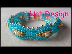 Jewelry Model, Diy Jewelry, Beaded Jewelry, Jewelry Bracelets, Jewelery, Handmade Jewelry, Jewelry Making, Beading Projects, Beading Tutorials
