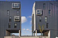 EXIT architects: el nodo housing