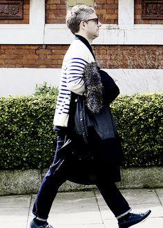 It Is What It Is — basilrathbones: Martin Freeman in North London,...