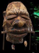 Hand made replica shrunken heads - shrunken-head.com