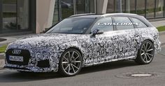 New Audi RS4 Avant Spied, Will Get 500HP Electric Turbo V6