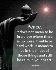 Innerlijke rust In het moment kunnen zijn In de ervaring durven zijn En alleen daar En je toch niet hechten aan de ervaring Gewaar zijn en blijven ademen