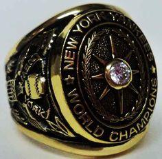 1927 New York Yankees Ring