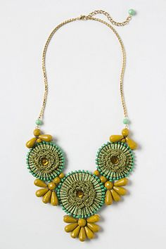 Might be good for fall as well -> Floraburst Necklace #anthropologie