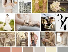 I love these colors... possibly a wedding color pallet?