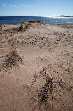 View from Tulliniemi beach #visitsouthcoastfinland #Hanko #tulliniemi #Finland #beach
