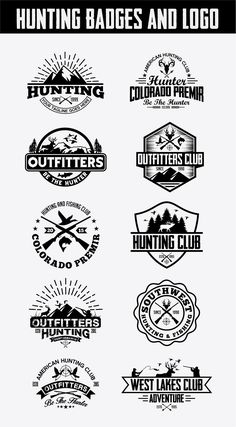A logo I designed for a hunting and fishing club. The name