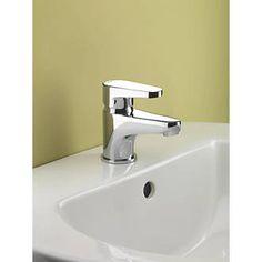 Bristan Quest Bathroom Basin Mono Mixer Tap with Click Waste | Basin Taps | Screwfix.com