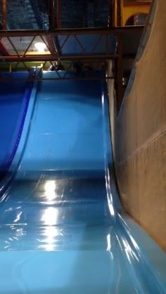 Kids love slides, just look at his face. We installed this at a FEC center. At #Iplayco we #Design #Manufacture and #Install indoor #playground #equipment and structures for all ages. contact us at www.iplayco.com or sales@iplayco.com