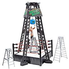 Toys R Us Exclusive WWE Pay Per View Feature Action Figure Wrestling Ring (TREY)