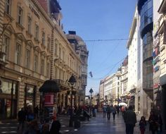 Knez Mihajlova street. If you're visiting Belgrade this spring, check out our special offers! #Belgrade #Serbia #trip #tripadvisor #vacation #hotel #luxury #holiday #design #travel